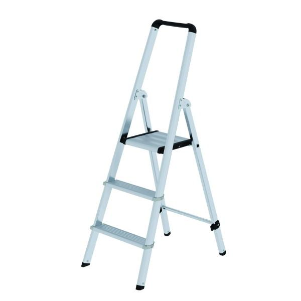 Aluminium-Stufen-Stehleiter 4 Stufen