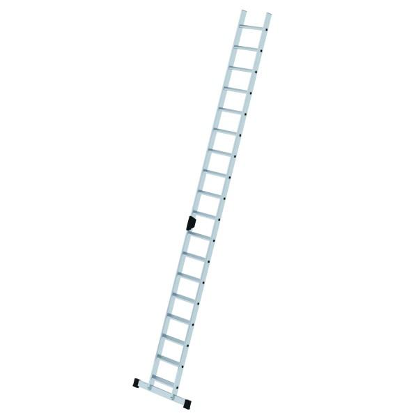 Aluminium-Stufen-Anlegeleiter mit Standard-Traverse