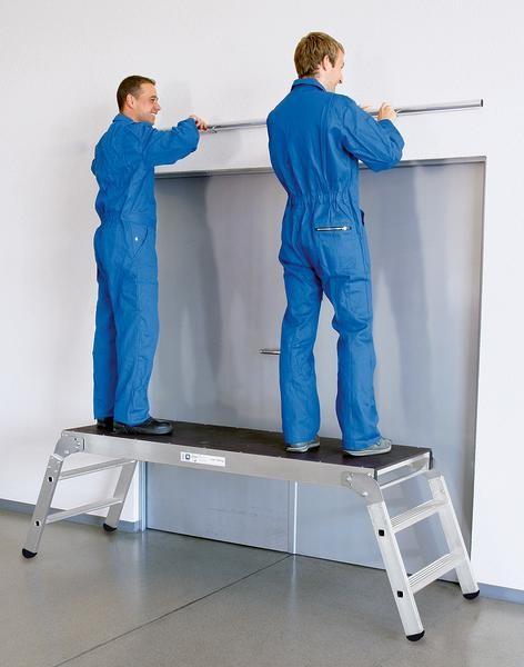 Aluminium-Arbeitsdiele klappbar