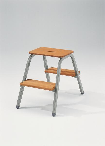 Stahl-Holz-Tritt starr